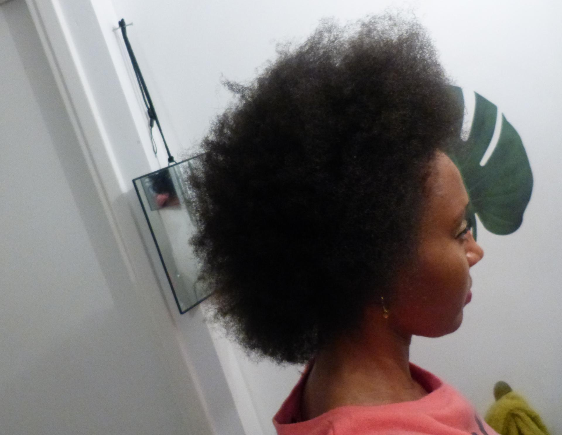 Cheveux crépus
