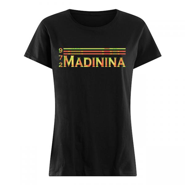 Collection t shirt et accessoire madinina 972 women s t shirt noir front 1