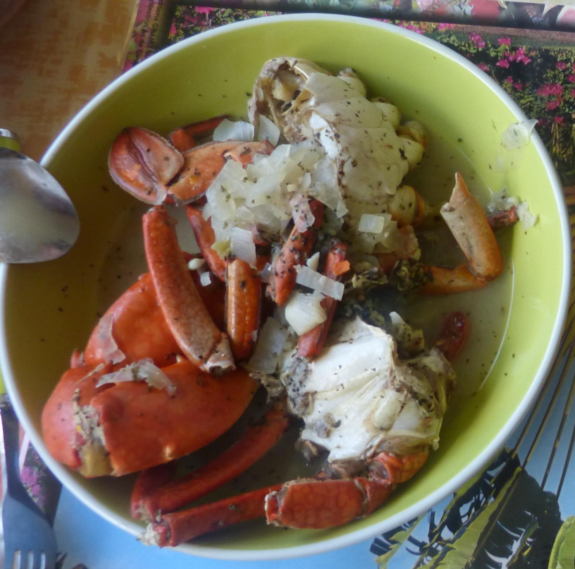 Crabe de madagascar