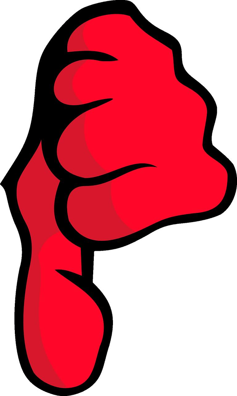 Pouce rouge
